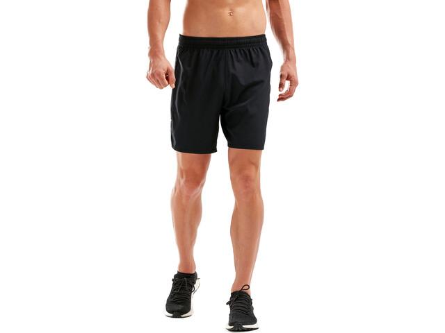 "2XU XVENT 7"" Free Pantalones cortos Hombre, black/black"